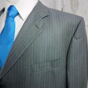 Jones New York Suits & Blazers - Jones New York Collection Gray Striped Suit Blazer